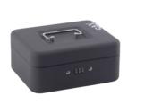 Sax 0-810-19 Geldkassette, B 20 x H 9 x T 16 cm, schwarz… - 1
