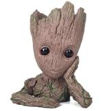 thematys Baby Groot Blumentopf - Innovative Action-Figur für Pflanzen & Stifte aus dem Filmklassiker I AM Groot (A) - 1