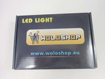 WoloShop LED-Lampe/LED-Nachtlicht mit Farbwechsel, Design: FC Barcelona, Aufladung per USB - 2