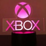 Xbox Gamer Games Logo 3D Acryl Led 7 Farben Nachtlicht Tischlampe Geschenk Touch Schalter - 1