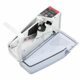 Ymiko Tragbarer Banknotenzähler Mini Geldzählmaschine Währungszähler Wechselstrom oder batteriebetrieben,Grau - 1