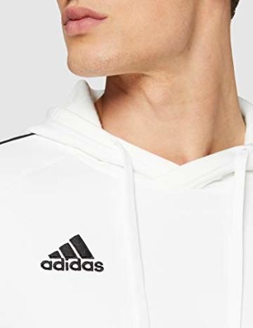 adidas Herren CORE18 Hoody Sweatshirt, White, L - 2