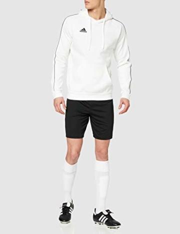 adidas Herren CORE18 Hoody Sweatshirt, White, L - 3