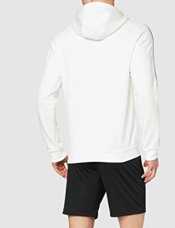 adidas Herren CORE18 Hoody Sweatshirt, White, L - 4