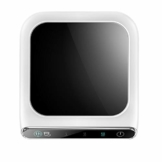 Aiboria Kaffeetassenwärmer, 10-W-Smart-Touchscreen-Getränkewärmer mit automatischer Abschalt-Schwerkraftinduktion für Schreibtisch und Haushalt, 3 einstellbare Temperaturstufen (Weiß + Schwarz) - 1