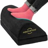 AMERIERGO Eingekeilt Verstellbares Fußstützkissen mit 2 optionalen Höhen für Zuhause & Büro - 1