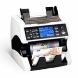 Banknotenzähler für Gemischte Geldscheine mit Wertzählung MUNBYN UV MG IR UV MW 3D SN 2 CIS Geldzählmaschine Banknotenzählmaschine für Euro-Banknoten - 1