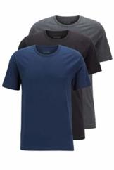 BOSS Herren T-Shirt RN 3P CO T-Shirts aus Baumwolle im Dreier-Pack - 1