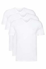 BOSS Herren T-Shirt VN 3P CO Dreier-Pack T-Shirts aus Baumwolle mit V-Ausschnitt - 1