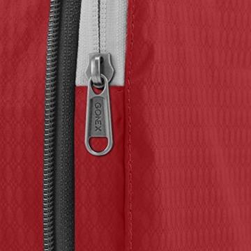 Compression Packing Cubes 3/4er Set, Gonex Kleidertaschen 4-teilig Verpackungswürfel, Kleidertaschen Set, Kofferorganizer Reise Würfel, Rot(3er), groß - 2