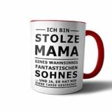 creativgravur® Tasse mit Spruch STOLZER PAPA, STOLZE MAMA Kaffeetasse Kaffeebecher Kaffeepot Frühstückstasse Bürotasse, Motiv:Motiv 11 - 1
