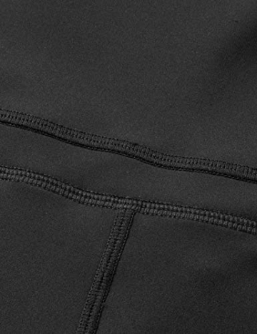 CRZ YOGA Damen Sports Yoga Leggings Sporthose mit Hoher Taille-Nackte Empfindung -63cm Schwarz 34 - 5