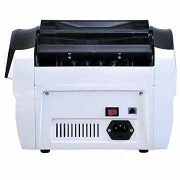 Dybory Automatischer Bargeld-Banknotenzähler Für Mehrere Währungen, LCD-Display Der Geldscheinzählmaschine Mit MG-Fälschungsdetektor, Alle Weltwährungen Und Mehr - 2