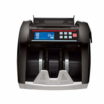 Dybory Automatischer Bargeld-Banknotenzähler Für Mehrere Währungen, LCD-Display Der Geldscheinzählmaschine Mit MG-Fälschungsdetektor, Alle Weltwährungen Und Mehr - 3