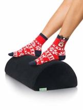 DYNMC you Fußablage als Bequeme Fußstütze Schreibtisch im Büro mit Oeko TEX Bezug - Fußhocker Formstabile Fußablage & Fußkissen unterm Schreibtisch ohne verrutschen - Fußbank Footrest - 1