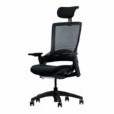 Ergotopia® NextBack | Ergonomischer Bürostuhl gegen Rückenschmerzen | Mit integrierter Lordosenstütze | Zusätzliche Kopfstütze gegen Nackenschmerzen (Schwarz) - 1