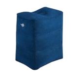 Fußstütze Kissen für Flugreisen, WeTong Tragbare Fußauflage Aufblasbare Reisekissen Bein Kissen Fusskissen Flugzeug Komfortableres Aufblasbare Fußstütze für Kinder Schlafen auf dem Auto/Flug (Blau) - 1
