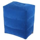 Fußstütze Kissen für Fußruhe von AirGoods und Fußstütze Flugzeug für den Schlaf der Kinder auf Flug (blau) - 1