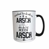 Great Things 4 Family Du bist Mein Arsch Geschenk Tasse für Männer zum Jahrestag Hochzeitstag Valentinstag Geburtstag mit Spruch frech und lustig - 1