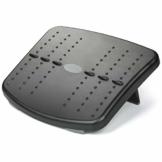 HUANUO Ergonomische Fußstütze für den Schreibtisch, 2 höhenverstellbare Fußstützen mit strukturierter Oberfläche, geeignet für Reisen im Home Office - 1