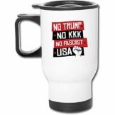 Kein Trumpf Kein KKK-Edelstahl-Isolierreisebecher mit Deckelladeschalen Isolierkaffeetasse - 1