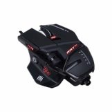 MadCatz R.A.T. 6+ Optical Gaming Mouse, Black - 1