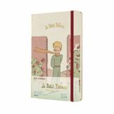 """Moleskine - 18-Monats-Kalender/Planer 2020/2021, """"Der Kleine Prinz"""" Terminkalender mit Wochenübersicht in limitierter Auflage, Rose Design, Hardcover, Format Large/A5 13 x 21 cm, 208 Seiten - 1"""