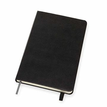 Moleskine - Art Sketchbook, Notizbuch zum Skizzieren und Zeichnen, Papier Geeignet für Stifte, Pastellfarben, Zeichenkohle, Stifte, Füllfederhalter ... Medium 11,5 x 18 cm, Farbe Schwarz, 88 Seiten - 3