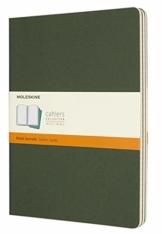 Moleskine Cahier Notizheft, Extra Large 19 x 25 cm, 120 Seiten, myrten-grün - 1