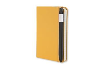 Moleskine Click Kugelschreiber (1,0 mm Stiftspitze, rechteckige Form und Clip für Notizbücher, Nachfüllbar) schwarz - 3