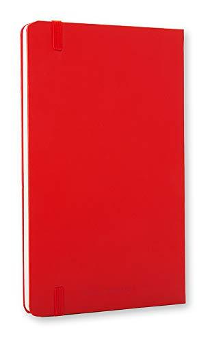 Moleskine farbiges Notizbuch (Large, Hardcover, blanko) rot - 5