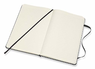 Moleskine - Klassisches Liniertes Notizbuch - Blend Kollektion - Hardcover mit Elastischem Verschlussband - Farbe Grün - Größe A3 13 x 21 - 240 Seiten - 2