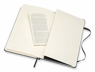 Moleskine - Klassisches Liniertes Notizbuch - Blend Kollektion - Hardcover mit Elastischem Verschlussband - Farbe Grün - Größe A3 13 x 21 - 240 Seiten - 4