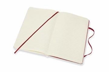 Moleskine Limited Edition Maneki Neko Notizbuch, liniertes Notizbuch mit japanischer Katze, Hardcover, Großes A5-Format 13 x 21 cm, Farbe Weiß, 240 Seiten - 3