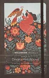 Moleskine - Moleskine Studio Kollektion Notizbuch, Liniertes Papier Notebook, Künstler Dinara Mirtalipova, Hard Cover, Große Größe 13 x 21 cm, 240 Seiten - 1