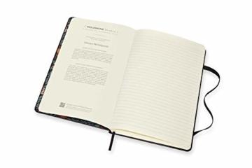 Moleskine - Moleskine Studio Kollektion Notizbuch, Liniertes Papier Notebook, Künstler Dinara Mirtalipova, Hard Cover, Große Größe 13 x 21 cm, 240 Seiten - 5