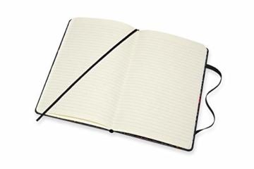 Moleskine - Moleskine Studio Kollektion Notizbuch, Liniertes Papier Notebook, Künstler Dinara Mirtalipova, Hard Cover, Große Größe 13 x 21 cm, 240 Seiten - 7