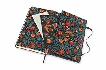 Moleskine - Moleskine Studio Kollektion Notizbuch, Liniertes Papier Notebook, Künstler Dinara Mirtalipova, Hard Cover, Große Größe 13 x 21 cm, 240 Seiten - 8