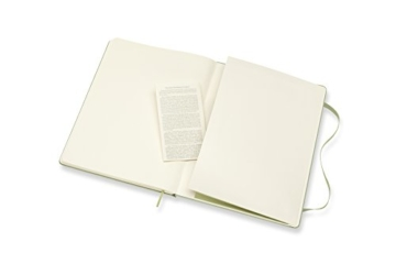 Moleskine Notizbuch Xlarge, Blanko, Hard Cover, Weidengrün - 2