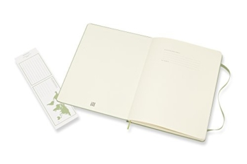 Moleskine Notizbuch Xlarge, Blanko, Hard Cover, Weidengrün - 3