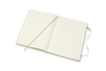 Moleskine Notizbuch Xlarge, Blanko, Hard Cover, Weidengrün - 5