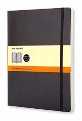 Moleskine Notizbuch, Xlarge, Liniert, Soft Cover, Schwarz - 1