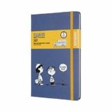 Moleskine Peanuts 12 Monate Wochenkalender, Wochenplaner 2021 in limitierter Sonderausgabe Lucy und Linus, fester Einband, Format Groβ 13 x 21 cm, 144 Seiten - 1