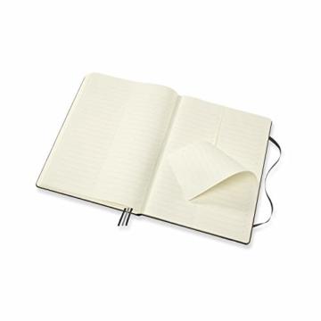 Moleskine - Pro Projektplaner und Notizbuch, Professioneller Terminkalender, Produktivität für Projekte und Projektmanagement, Hardcover, Format 21 x 29,7 cm, Farbe schwarz, 288 Seiten - 2