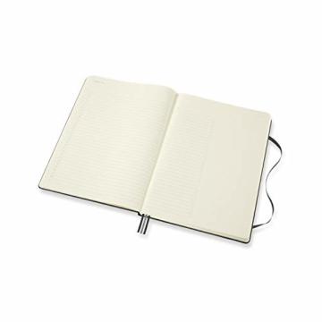 Moleskine - Pro Projektplaner und Notizbuch, Professioneller Terminkalender, Produktivität für Projekte und Projektmanagement, Hardcover, Format 21 x 29,7 cm, Farbe schwarz, 288 Seiten - 6