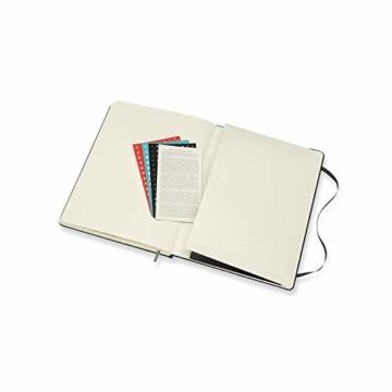 Moleskine Professioneller Wochenkalender 2021, 12 Monate Wochenplaner, vertikal, Planer mit Stundenaufteilung, fester Einband, Format XL 19 x 25 cm, Farbe schwarz, 288 Seiten - 8