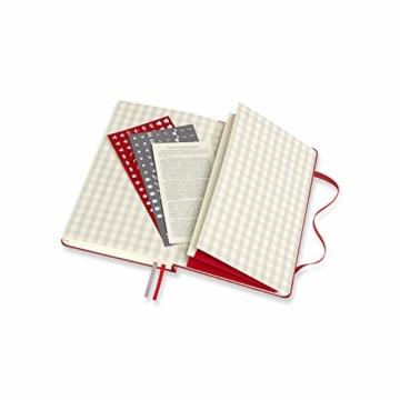 Moleskine Rezept Notizbuch, (Themen-/ Hardcover Notizbuch zum Sammeln und Organisieren Ihrer Rezepte, 13 x 21 cm, 400 Seiten) - 2