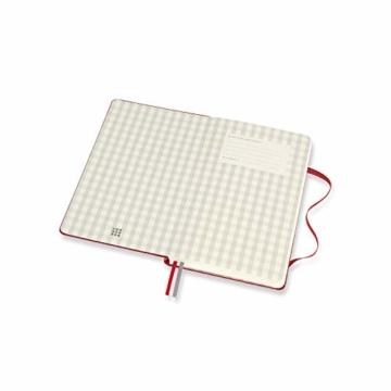 Moleskine Rezept Notizbuch, (Themen-/ Hardcover Notizbuch zum Sammeln und Organisieren Ihrer Rezepte, 13 x 21 cm, 400 Seiten) - 3