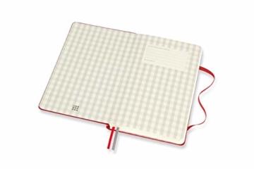 Moleskine Rezept Notizbuch, (Themen-/ Hardcover Notizbuch zum Sammeln und Organisieren Ihrer Rezepte, 13 x 21 cm, 400 Seiten) - 5