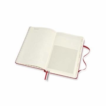 Moleskine Rezept Notizbuch, (Themen-/ Hardcover Notizbuch zum Sammeln und Organisieren Ihrer Rezepte, 13 x 21 cm, 400 Seiten) - 7